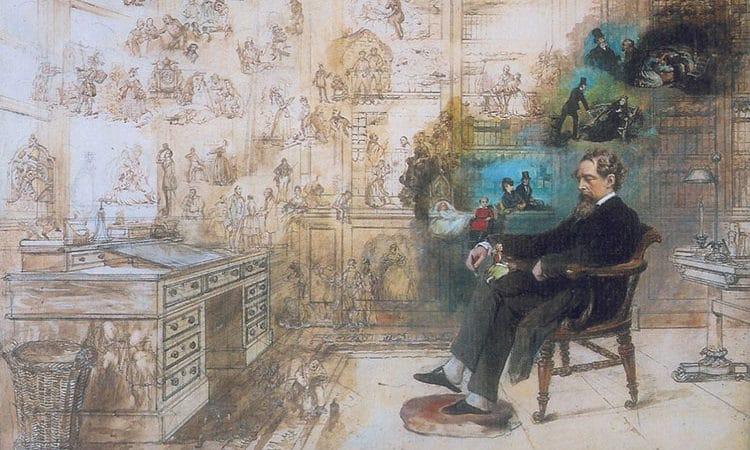 """""""El sueño de Dickens"""" Robert W. Buss"""