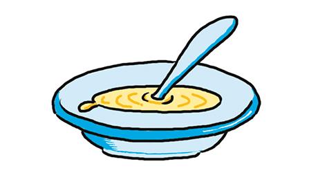 Dibujo de sopa