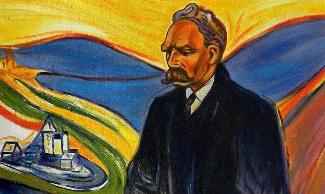 Nietzsche por Munch