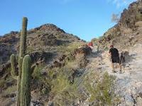 Cerro Squaw, Phoenix (Erickson solíapedir a sus pacientes una subida terapéutica al cerro)
