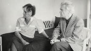 Emil Cioran con su mujer, Simone Boué