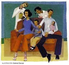 la familia de transacción esquizofrénica