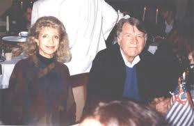 Haley con la antropóloga Madeleine Richeport, su primera mujer
