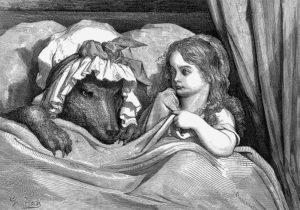 """""""Caperucita y el lobo"""""""