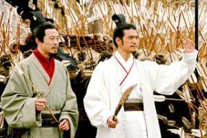 Zhuge Liang puso a salvo a su ejército de vuelta en la capital del reino de Shu, en donde insistió en degradarse personalmente en tres rangos por la derrota de Jieting.