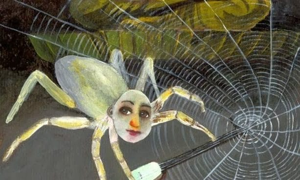 Bloqueo en la tela de araña