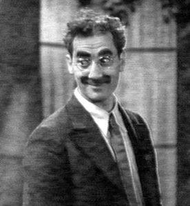 Groucho Marx en sus inicios