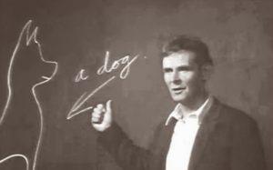 Wittgenstein dando clase