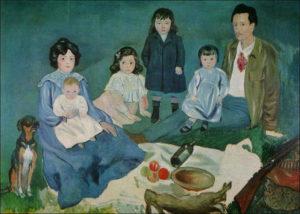 """""""La familia Soler"""" Picasso"""