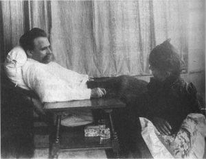 Nietzsche en la vejez