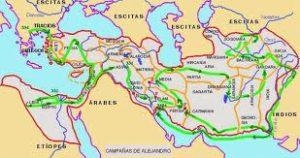 El imperio del astuto Alejandro Magno