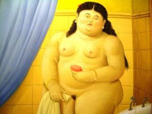 """""""The bath"""" Fernando Botero"""