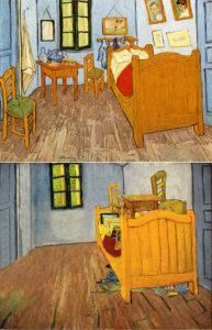 La habitación de Van Gogh ordenada por Wehrli