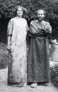 Helene y Gustav Klimt