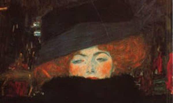 """Una mujer distinguida"" Klimt"