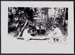 Los famosos antropólogos Margaret Mead y Gregory Bateson