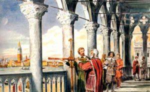 Galileo convenciéndose del geocentrismo