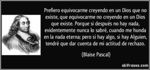 Apuesta de Pascal