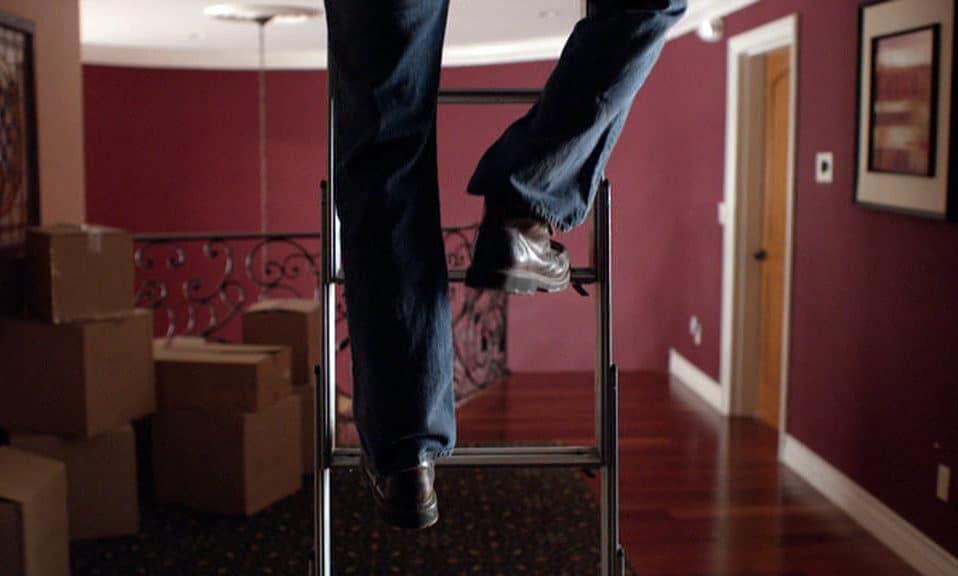Quitando la escalera