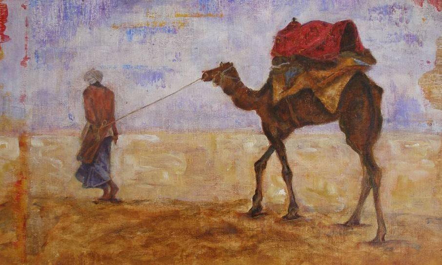 la historia del camello