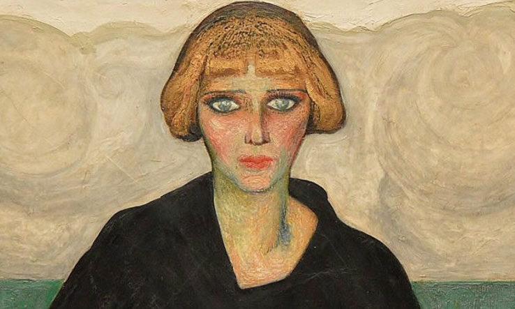 Mujer con verrugas